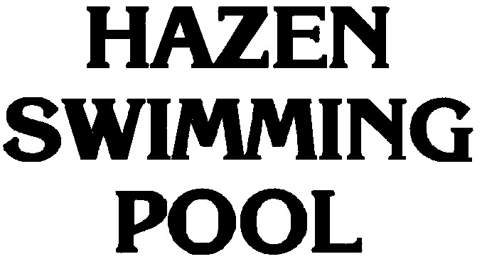 Hazen Swimming Pool